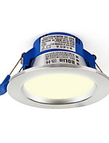 1Pc 3W Led Downlight Celing Light Dimmable Warm White/White AC220V Size Hole 85mm 4000/6500K