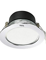 1Pc 5W Led Downlight Celing Light Warm Yellow/White AC220V Size Hole 95mm