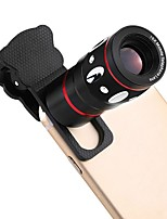 XuanXin Smartphone Camera Lenses 0.67X Wide Angle 10X Macro Lens Fish-eye Lens 10X Long Focal Lens for ipad iphone Huawei xiaomi samsung