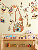 Cartoon Wall Stickers Plane Wall Stickers Decorative Wall Stickers,Plastic Material Home Decoration Wall Decal