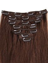 Clip In Human Hair Extensions 100% Remy Real Human Hair Straight Various Colors for Women Beauty 70g/100g