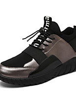 Men's Shoes Fabric Summer Fall Comfort Light Soles Sneakers Gore For Casual Outdoor Black Gold