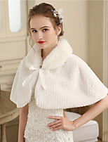 Women's Wrap Capelets Faux Fur Wedding Party/ Evening Fur
