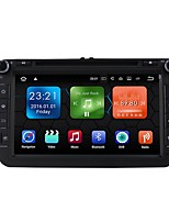 android 7.1.2 carro dvd player sistema multimídia 8 polegadas quad core wifi ex-3g dab para vw magotan focus 2007-2011 golf 5 golf 6 caddy