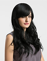 Women Human Hair Capless Wigs Black Long Natural Wave African American Wig For Black Women