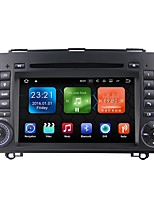 android 7.1.2 carro dvd player sistema multimídia 7 polegadas quad core wifi ex-3g dab para mercedes benz a / b classe b200 2004-2011