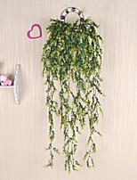 1 Branch Plastic Plants Wall Flower Artificial Flowers