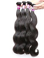 Natural Color Hair Weaves Peruvian Texture Body Wave 18 Months 4 Pieces hair weaves