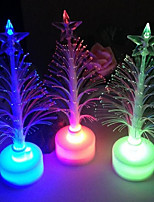 1CPS Color Changing LED Christmas Tree Night Light Lamp Gift New Year Colorful Christmas