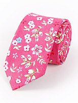 Men's Rayon Cotton Blend Neck Tie,Neckwear Print All Seasons