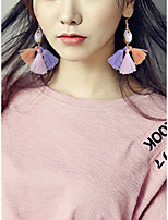 Women's Drop Earrings Handmade Fashion Alloy Flower Jewelry For Gift Daily