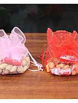 Ball Organza Favor Holder With Favor Boxes Favor Bags-50