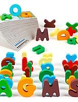 alphabet pour enfants correspondant puzzle en bois carte cognacale de la petite enfance ttoy jj7701-0532