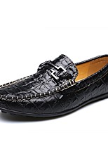 Men's Loafers & Slip-Ons Moccasin Comfort Fall Winter Real Leather Leather Nappa Leather Wedding Casual Outdoor Office & Career Party &