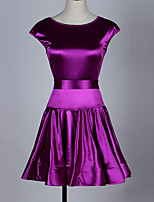 Latin Dance Dresses Women's Performance Spandex 1 Piece Sleeveless