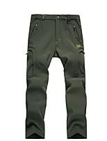Per uomo Pantaloni da escursione Antivento Indossabile Traspirabilità Pantalone/Sovrapantaloni per Caccia Escursionismo Scalate Campeggio