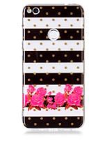cassa per huawei p8 lite (2017) p10 lite telefono caso tpu materiale fiore modello hd cassa telefono p9 lite