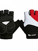 Sports Gloves Unisex Cycling Gloves Spring Summer Bike Gloves Quick Dry Breathable Protective Lightweight Sweat-Wicking Skidproof