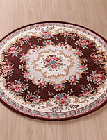 Round Home Room Carpet for Living Room Mat Rug Jacquard Carpet Water Absorption Floor Rug Solid Comfortable Mat