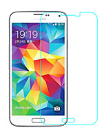 Vidrio Templado Protector de pantalla para Samsung Galaxy S5 Protector de Pantalla Frontal Alta definición (HD) Dureza 9H Borde Curvado