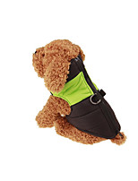 Dog Vest Dog Clothes Casual/Daily Color Block Blushing Pink Blue Green Red