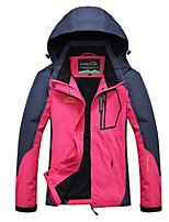 Women's Hiking Jacket Windproof Rain-Proof Breathability Full Length Visible Zipper Top for Camping / Hiking Cycling Climbing Traveling