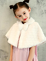 Kids' Wraps Capelets Faux Fur Wedding Party/ Evening Pattern / Print Sweetheart