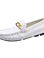 Masculino sapatos Materiais Customizados Courino Primavera Outono Conforto Mocassins e Slip-Ons Tacheado Para Casual Festas & Noite