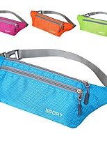 1 L Waist Bag/Waistpack Climbing Camping Travel Running Quick Dry Wearable Lightweight Breathability Nylon