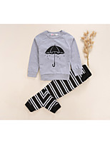 Boys' Stripes Print Sets,Cotton Fall Long Sleeve Clothing Set