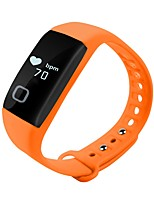 hy t1 smart bracelet sleep monitoring bluetooth impermeável chamador id recorder pulseira android ios