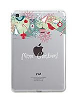 preiswerte -Für iPad (2017) Hüllen Cover Transparent Muster Rückseitenabdeckung Hülle Durchsichtig Weihnachten Weich TPU für Apple iPad (2017) iPad