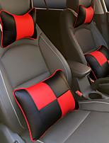 автомобильный Подушки для подголовника и талии Назначение Универсальный Все года Подголовники для авто Кожа