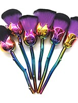 6 pcs Makeup Brush Set Synthetic Hair