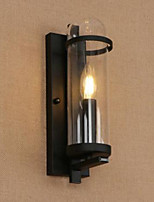 AC 110-120 AC 220-240 40 E12/E14 Vintage Country Painting Feature for Eye Protection,Ambient Light Wall Sconces Wall Light