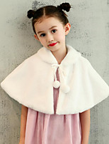 Kids' Wraps Capelets Faux Fur Wedding Party/ Evening Bow(s) Bandage