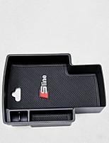 Коробка для хранения подлокотника спереди Органайзеры для авто Назначение Audi 2012 2013 2014 2015 2016 2017 A5 Пластик