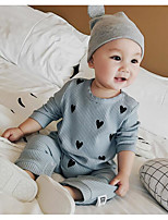 Baby Cartoon Solid One-Pieces,Cotton Winter