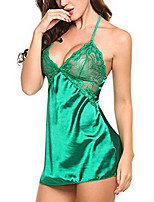 Women's Ultra Sexy Nightwear,Sexy Solid-Medium Polyester