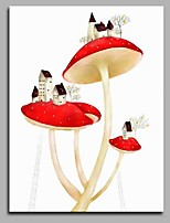 Mushroom Community Modern Artwork Wall Art for Room Decoration