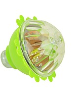 Children Flash Colorful Light Plastic Spinning Peg Top Toy Rotating Luminous Gyroscope Spinning Gyro Ramdon Color