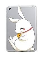 preiswerte -Für iPad (2017) Hüllen Cover Transparent Muster Rückseitenabdeckung Hülle Durchsichtig Tier Cartoon Design Weich TPU für Apple iPad
