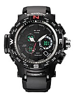 Men's Sport Watch Smart Watch Digital Watch Wrist watch Swiss Digital LED Calendar Chronograph Water Resistant / Water Proof Dual Time