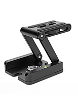 ASJ Z Ball Head Desktop Folding Panoramic Track Slide PTZ Tripod Camera PTZ Tripod Damping Head