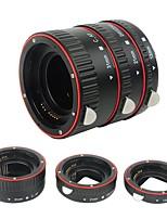 plastique électronique af macro extension tube auto focus af macro lentille extension tube anneau avec couvercles pour canon ef ef s