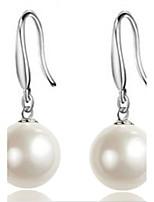 Per donna Orecchini a goccia Perle finte Elegant Di tendenza Perle finte Lega Palla Gioielli Per Matrimonio Feste Fidanzamento Cerimonia