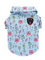 Dog Shirt / T-Shirt Vest Dog Clothes Party Casual/Daily Birthday Fashion Wedding Halloween Christmas Animal Blue