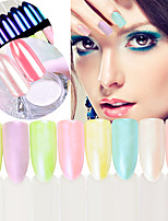 Glitter Accessories Powder Mirror 3-D DIY Supplies Nail Salon Tool Hand Rests
