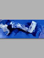 Dipinta a mano Astratto Orizzontale,Artistico Un Pannello Tela Hang-Dipinto ad olio For Decorazioni per la casa