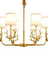 Chandelier For Living Room Indoors Bedroom AC 100-240V Bulb Included